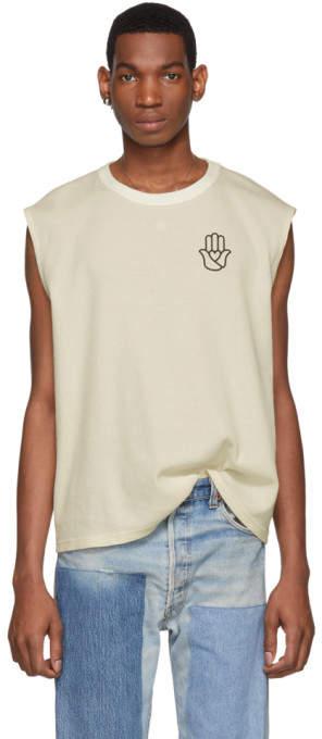 BEIGE St-Henri SSENSE Exclusive Peace T-Shirt