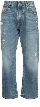 R 13 Bain mid rise boyfriend jeans
