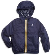 K-Way Boys' Packable Hooded Jacket - Sizes 6-14
