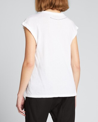 Bassike Fitted Muscle Tank