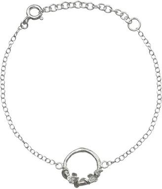 Lucy Flint Jewellery Meadow Flowers Circle Bracelet Sterling Silver