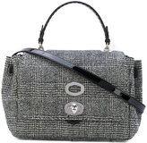 Ermanno Scervino textured tote - women - Patent Leather/Wool/Metal (Other) - One Size