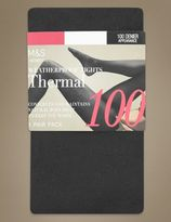Marks and Spencer 100 Denier Thermal Opaque Tights