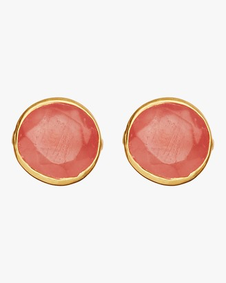 Pippa Small Gold Classic Stud Earrings