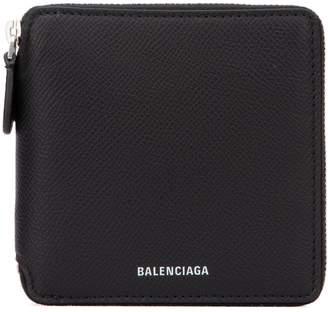 Balenciaga Square Zipped Logo Wallet
