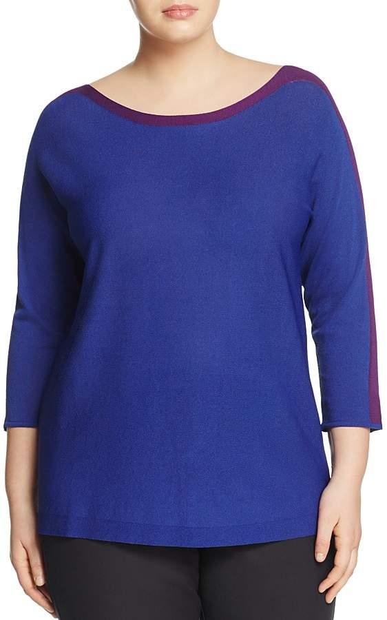 Marina Rinaldi Aula Color-Block Sweater