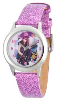 EWatchFactory Disney Descendants 2 Mal Tween Girls' Stainless Steel Watch