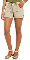 KUT from the Kloth Julie Cargo Roll-Cuff Shorts