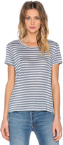 Wilt Shadow Stripe Baby Tee