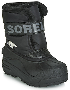 Sorel CHILDRENS SNOW COMMANDER girls's Snow boots in Black