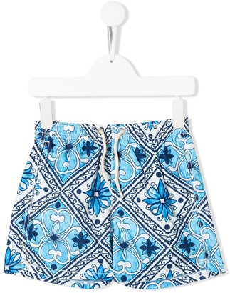 MC2 Saint Barth Kids printed swimming shorts
