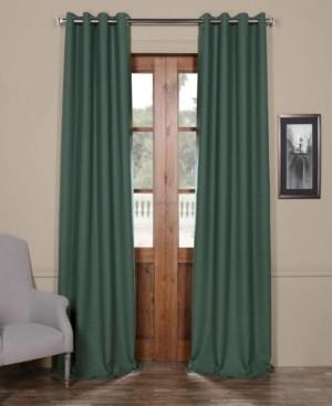 "Bellino Exclusive Fabrics & Furnishings Grommet Blackout 50"" x 120"" Curtain Panel"