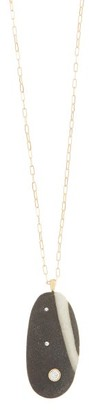 Cvc Stones Brazen Diamond & 18kt Gold Necklace - Womens - Gold