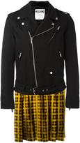 Moschino trompe-l'oeil biker jacket - men - Wool/Viscose - 48