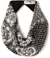 Mignonne Gavigan Le Charlot Beaded Scarf Necklace, Black
