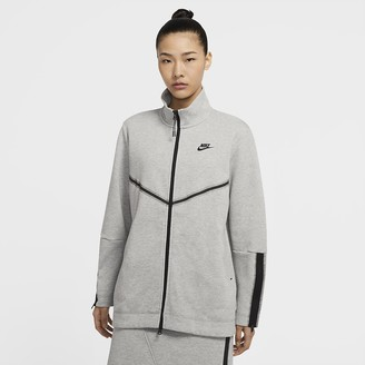 Nike Women's Full-Zip Long Sleeve Sportswear Tech Fleece