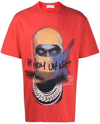 Ih Nom Uh Nit face-print T-shirt