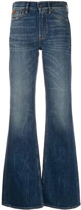 Ralph Lauren Collection Wide-Leg Flared Jeans