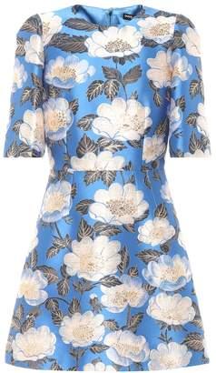 Dolce & Gabbana Jacquard minidress