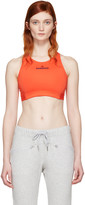 adidas by Stella McCartney Red Climalite Bra