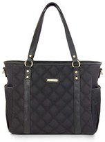 Timi & Leslie Infant 'Quilted Tote' Diaper Bag - Black