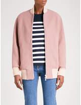 Rag & Bone Elle boil wool bomber jacket