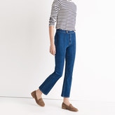 Madewell Rivet & Thread Pintuck Demi-Boot Jeans