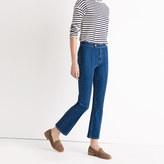 Madewell Rivet & Thread Pintuck Demi-Boot Jeans