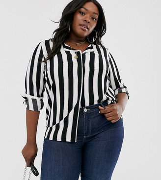 Junarose stripe blouse