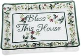 "Pfaltzgraff Winterberry ""Bless This House"" Platter"