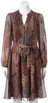 MSK Women's Pintuck Shirt Dress