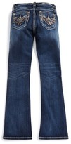 Miss Me Girl's Embellished Bootcut Jeans
