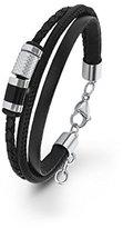 S'Oliver Men's Bracelet Multi Layer Lacquer 22 cm – Stainless Steel 566704