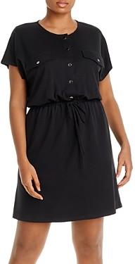 Aqua Curve Knit Utility Dress - 100% Exclusive