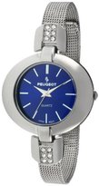 Peugeot Women's 7093BL Stainless Steel Crystal-Accented Watch