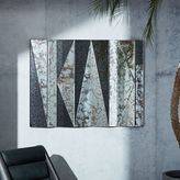 west elm Geo Landscape Wall Mirror