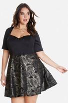 Fashion to Figure Katey Sweetheart Flare Dress