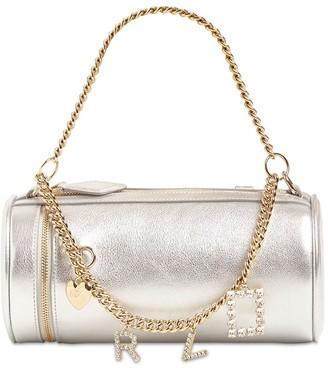 Roger Vivier Charm Mini Metal Leather Top Handle Bag