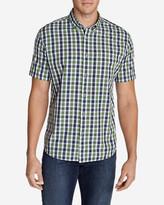 Eddie Bauer Men's Legend Wash Short-Sleeve Poplin Shirt