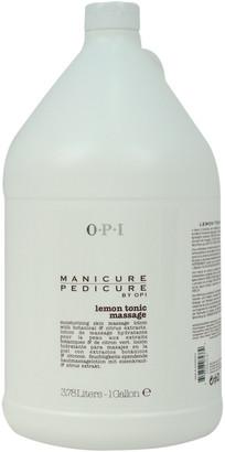 OPI Unisex 128Oz Manicure Pedicure Lemon Tonic Massage Lotion