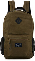 Original Penguin Waxed Canvas Backpack, Dusty Olive
