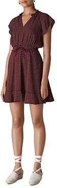 Whistles Jazmin Dot Print Dress