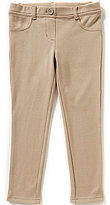 Copper Key Little Girls 2T-6X Knit Pull-On Leggings