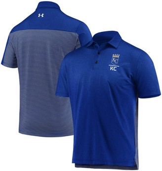 Under Armour Men's Royal Kansas City Royals Novelty Performance Polo