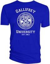 Doctor Who Gallifrey University Mens T-Shirt
