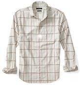 Banana Republic Camden-Fit Luxe Windowpane Flannel Shirt