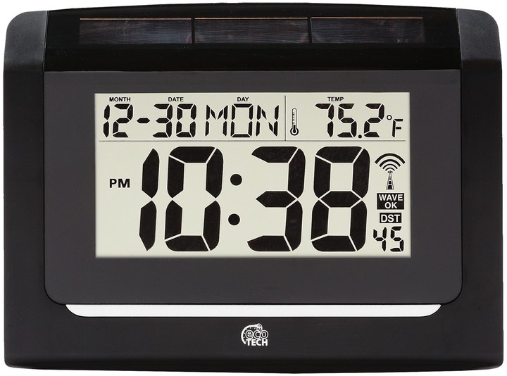 La Crosse Technology Equity by Hybrid Solar Atomic Wall Clock