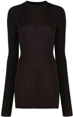 Bottega Veneta Slim-Fit Ribbed-Knit Jumper