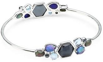 Ippolita Rock Candy Sterling Silver & Multi-Stone Cluster Bangle Bracelet