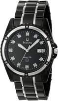 Bulova Men's 98D107 Marine Star Bracelet Mother of Pearl Dial Watch